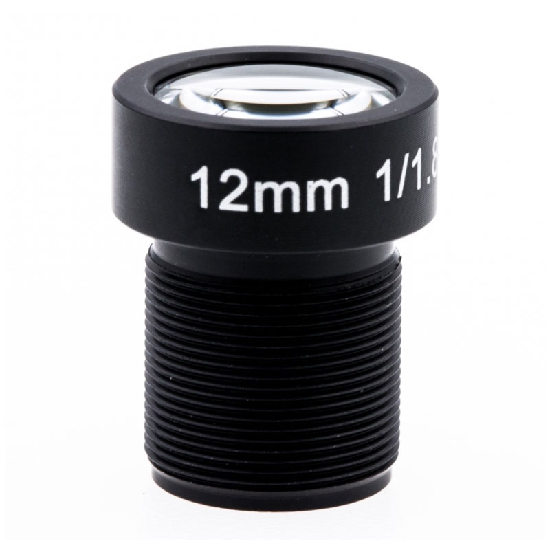 12.00mm F/1.8 34D HFOV 10mp Gopro Lens Low distortion Lens CCTV Camera Lens Supplier