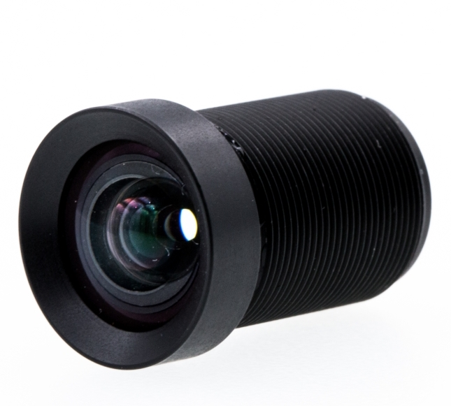 4K High Resolution 4.35mm Non Distortion Lens 1/2.3 inch CCTV Camera Lens