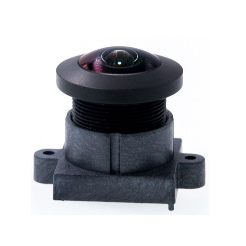 F2.8 8mp 225D 1.0mm  M12 Fixed Focus Super Wide Angle  Fisheye Lens